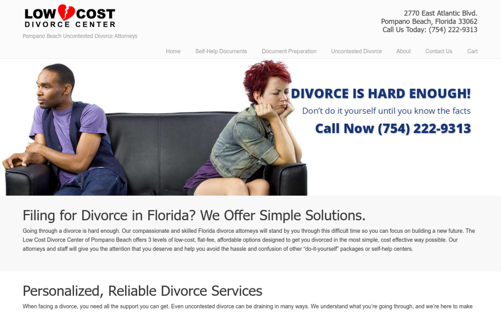 Low Cost Divorce Center